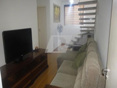 residencial spazio palazzo di spagna - cobertura, sala, cozinha, 2 dorm., lavabo, 2 vg de garagem. armários planejados, ar condicionado. sol da manhãa - ap01448 - 33625061