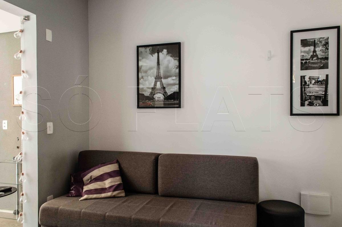 residencial vx-change 1 vaga mobiliado (11) 3059-0846