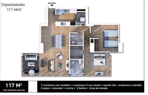 residenciales, exclusivos y funcionales departamentos, contadero