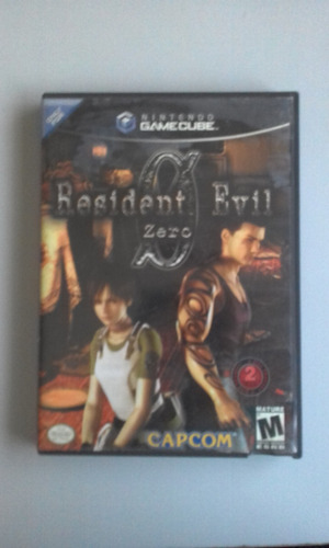 resident evil 0 game cube original americano