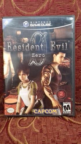 resident evil 0 gamecube (como nuevo)