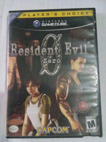 resident evil 0 zero gamecube nintendo game cube trqs re