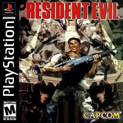resident evil 1 - playstation 1- psx -