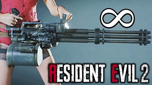 resident evil 2 deluxe+armas infinitas+50 juegos offline