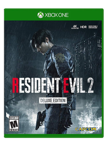 resident evil 2 deluxe edition - xbox one - offline