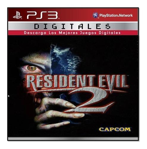 resident evil 2 ps3 original entrega inmediata