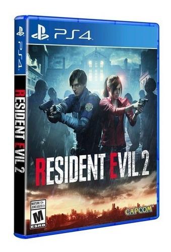 resident evil 2 ps4 - lanzamiento - nuevo - fisico - sellado
