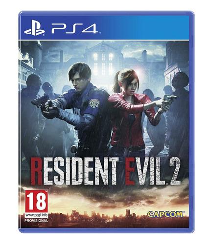 resident evil 2 ps4 nuevo original sellado
