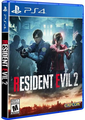 resident evil 2 ps4 nuevo y sellado, envio rapido