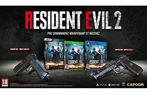 resident evil 2 remake collectors edition