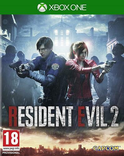 resident evil 2 remake digital para xbox one (no físico)