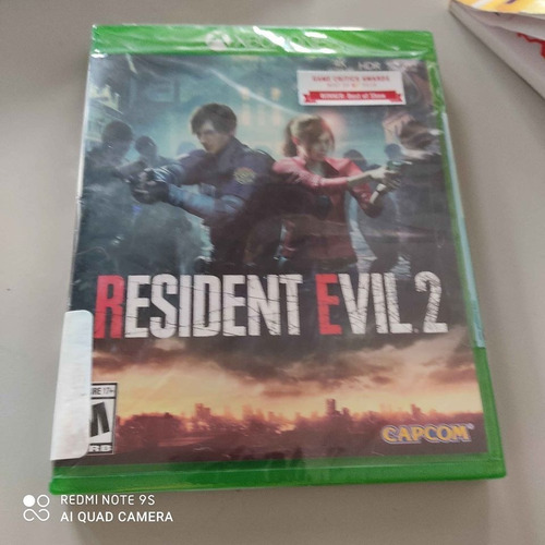 resident evil 2 remake para xbox one