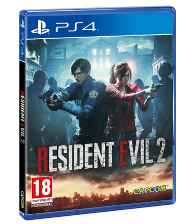 resident evil 2 remake ps4, fisico, nuevo, sellado.
