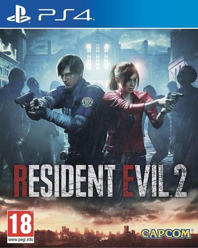 resident evil 2 remake ps4 fisico nuevo sellado
