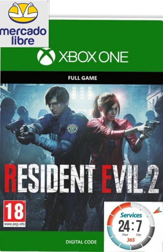 resident evil 2 - xbox one -  local