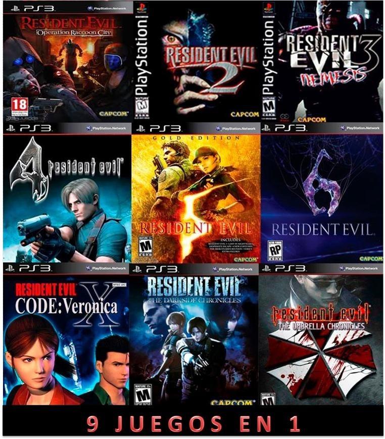 descargar juegos de resident evil 6