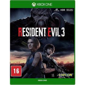 Resident Evil 3 - Mídia Física - Xbox One - Novo Lacrado