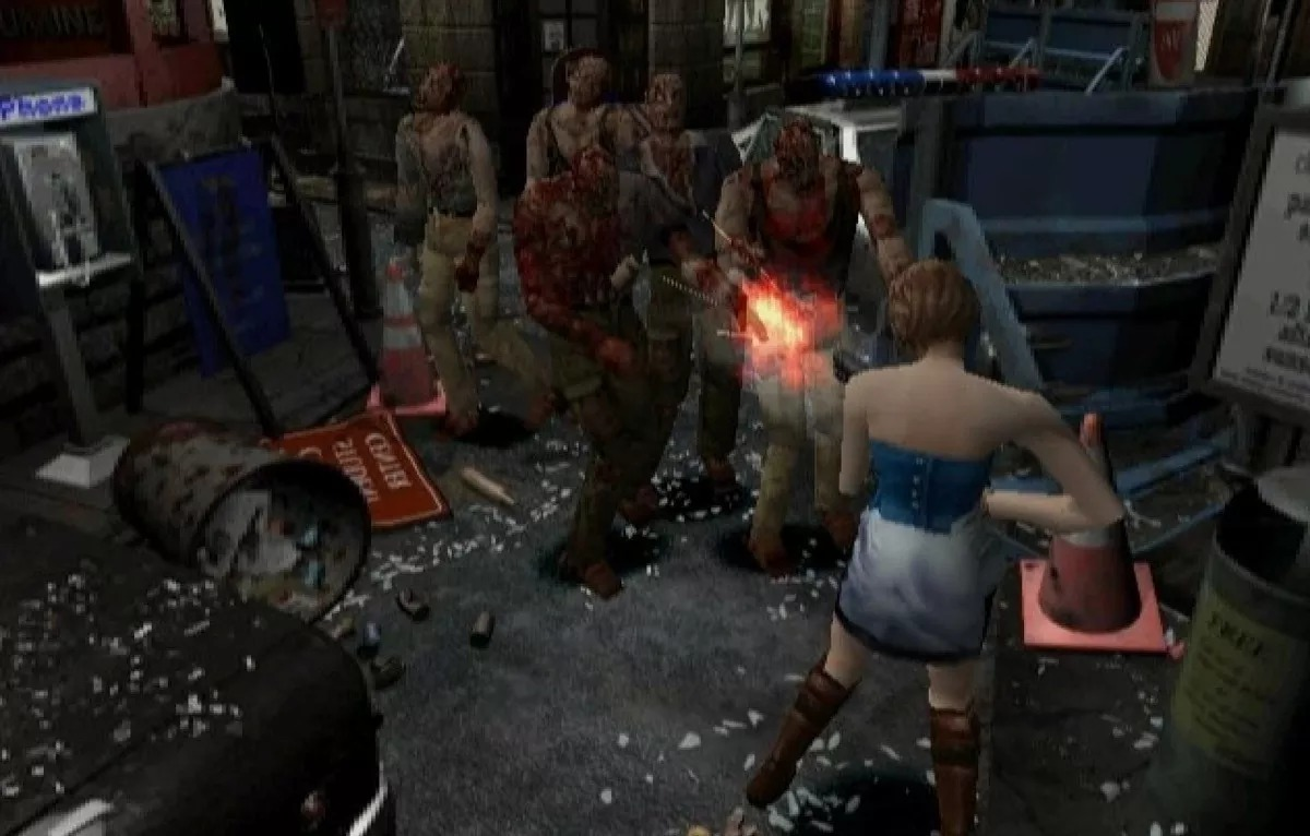 Resultado de imagen de resident evil 3 1999