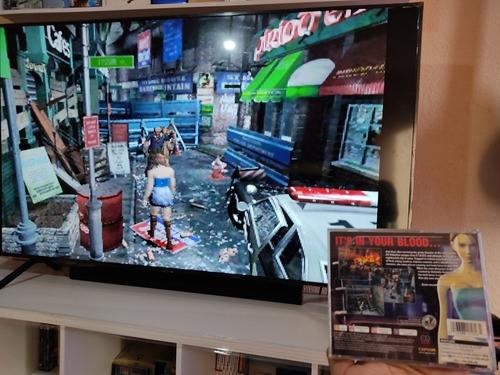 resident evil 3 nemesis ps1 ps2 juego original