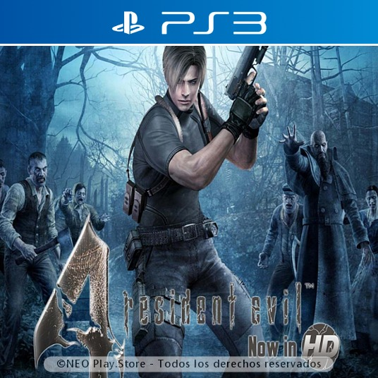 Resident Evil 4 Hd Regalo Juego Ps3 Terror Zombies Miedo 169