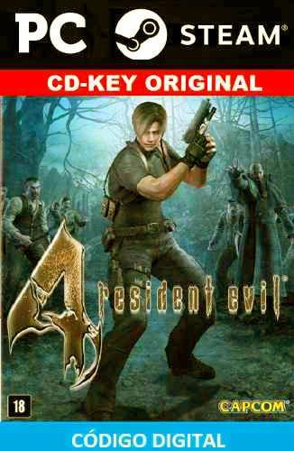 resident evil 4 pc cd key steam original hd edition barato