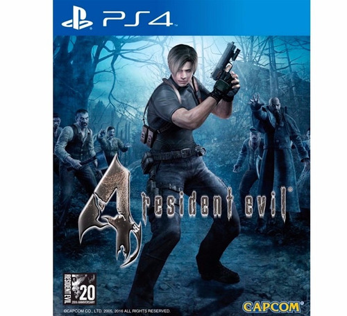 resident evil 4 ps4 play station 4juego físico original ps4