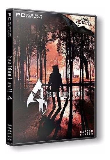 Resident Evil 4 Ultimate Hd Edition - Pc Dvd - Frete 8 Reais