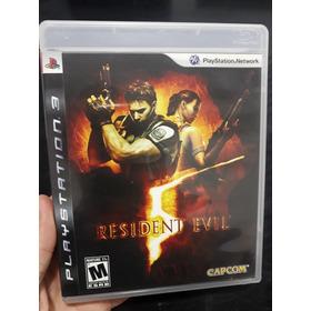 Resident Evil 5 ( Jogo Original Ps3 Mídia Física ) Unidade
