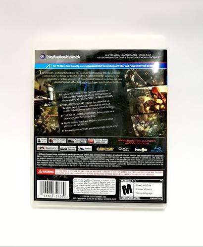 resident evil 5 gold edicion ps3, envios y delivery.