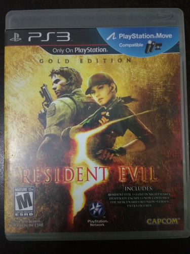 resident evil 5 gold edition - ps3 - game freaks