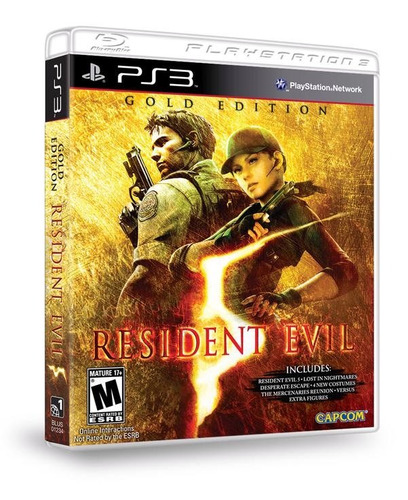 resident evil 5 gold edition re 5 ps3 psn