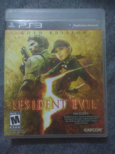 resident evil 5 gold juego ps3