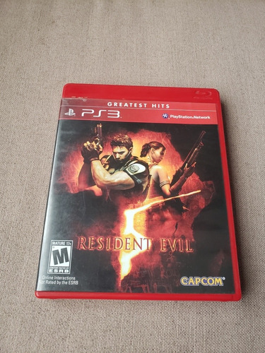 resident evil 5 greatest hits para ps3 playstation 3