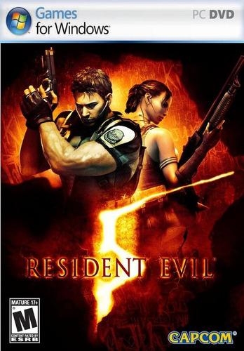 resident evil 5 juego pc disco fisico