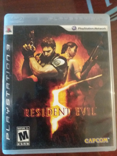 resident evil 5 juego ps3