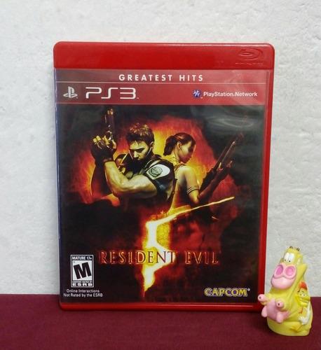 resident evil 5 play station ps3 garantizado