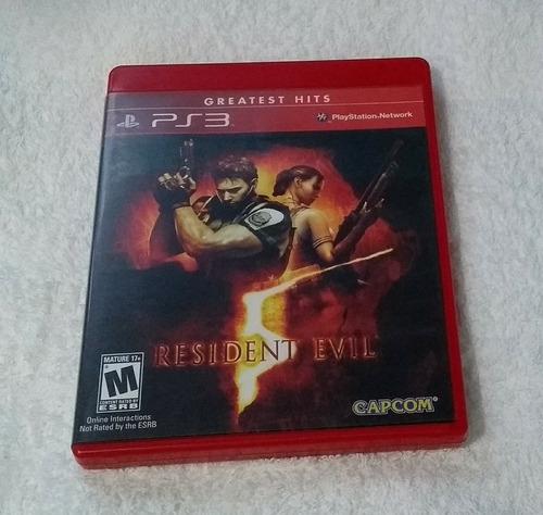 resident evil 5 ps3 usado mídia física