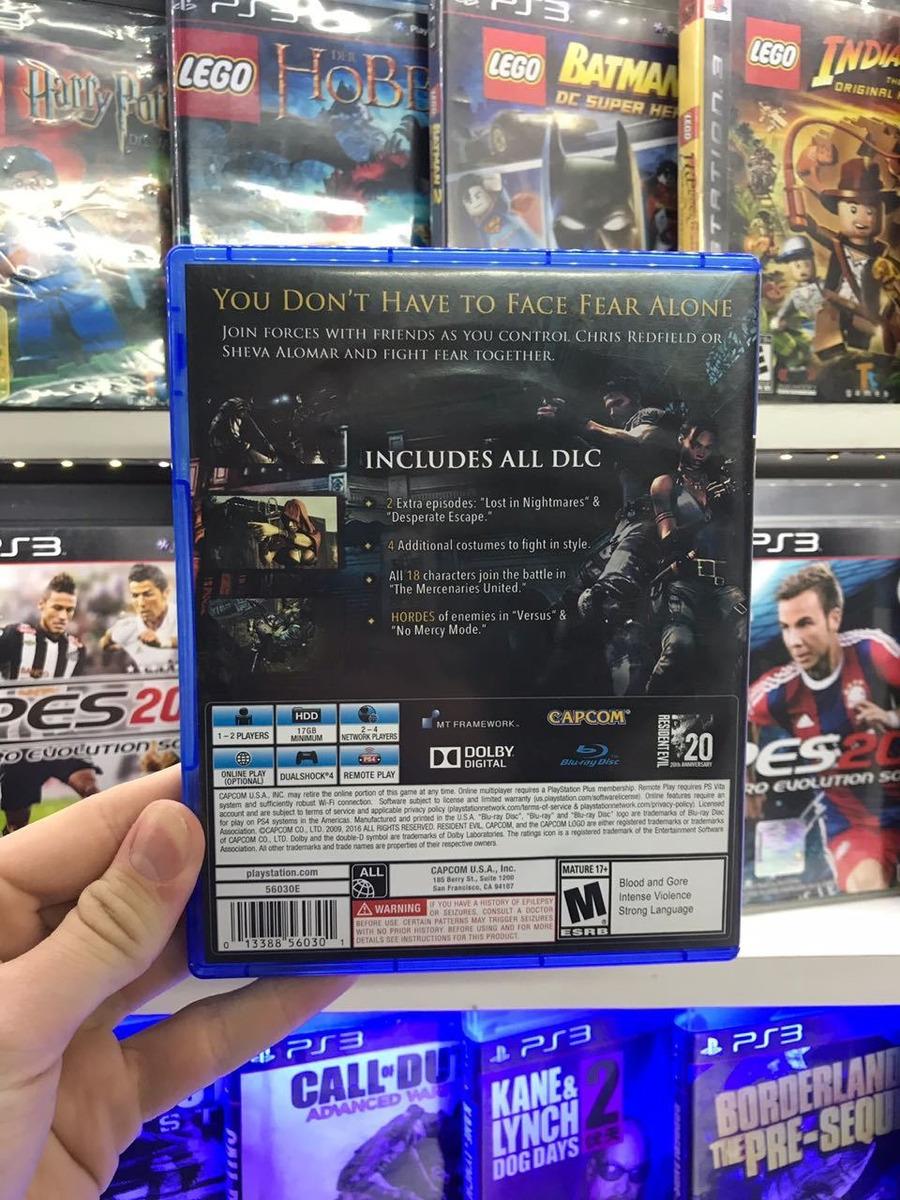 Resident Evil 5 Ps4 Fisico Usado 1 380 00 En Mercado Libre