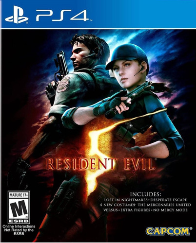 resident evil 5 ps4 formato fisico juego playstation 4