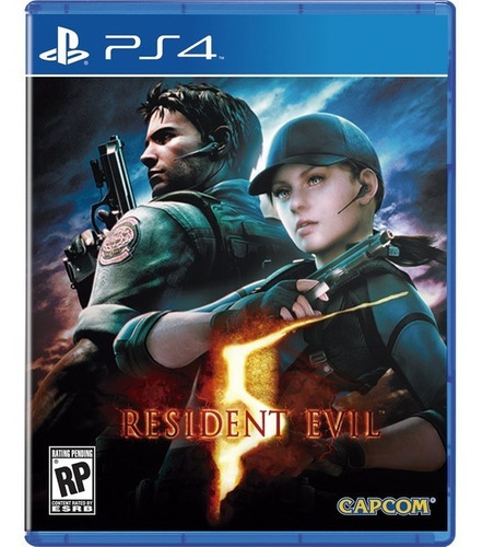 resident evil 5 ps4 - juego fisico - prophone