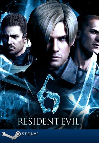 resident evil 6 digital pc steam