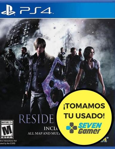 resident evil 6 hd remastered ps4 juego fisico nuevo sellado