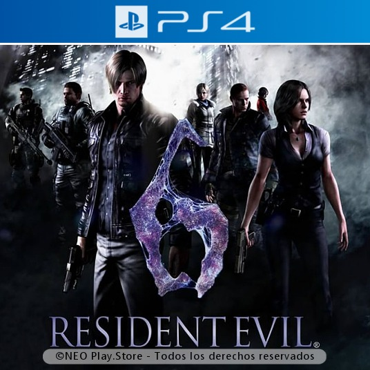 Resident Evil 6 Juego Ps4 Terror Suspenso Zombies Espanol 299