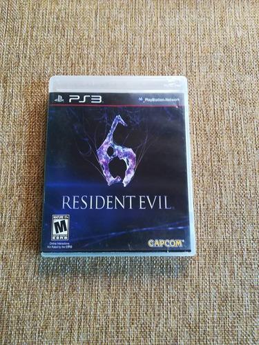 resident evil 6 original usado ps3