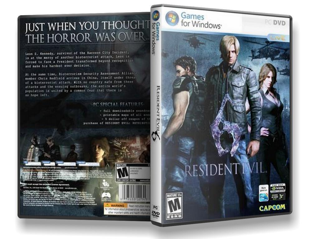 Resident Evil 6 Pc Game - Enviado Pelos Correios