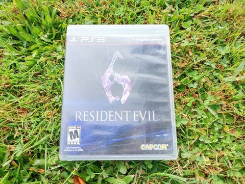 resident evil 6 ps3 [ excelente estado ]