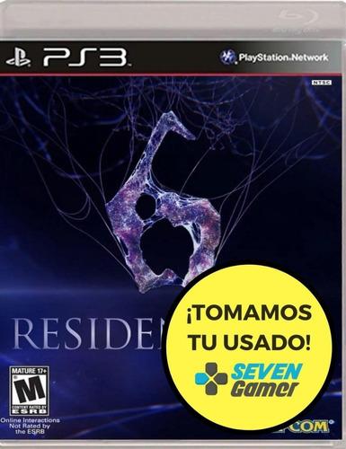 resident evil 6 ps3 juego fisico sellado nuevo playstation 3