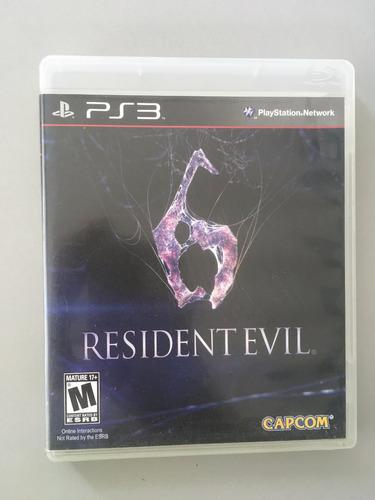 resident evil 6 ps3 playstation3 original