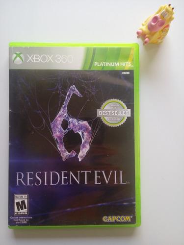 resident evil 6 xbox 360 garantizado!! :)