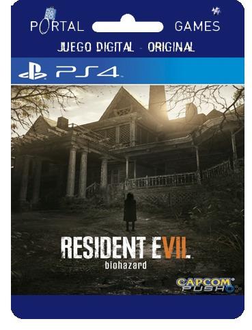 resident evil 7 biohazard ps4  con vr